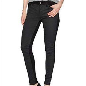 Levi's Coated Panel 535 Super Skinny Black Jean 27